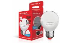 Лампа светодиодная SUPRA_ ECO_G45-05W/4000/E27 _шар