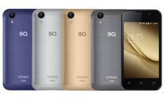 Смартфон BQ-4072 Strike Mini Черный Шлифованный