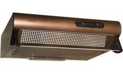 Вытяжка козырьковая Elikor Davoline 60П-290-П3Л медный управление: ползунковое (1 мотор)