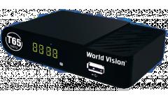 Тюнер T2 World Vision T65 (YouTube, Megogo, IPTV) черный
