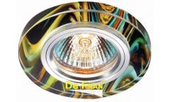 Светильник точечный_DE FRAN_ FT 765 MR16  хром+красочный микс