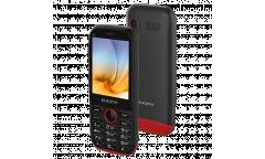 Мобильный телефон Maxvi K17 black-red