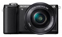 "Фотоаппарат Sony Alpha A5000LB черный 20.1Mpix 3"" 1080p WiFi E PZ 16-50 мм F3.5-5.6 OSS NP-FW50"