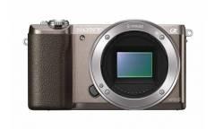 """Фотоаппарат Sony Alpha A5100 бронзовый 24.3Mpix 3"""" 1080p WiFi E PZ 16-50mm f/3.5-5.6 OSS NP-FW50"""