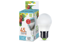 Лампа светодиодная ASD LED-ШАР-standard 5Вт 160-260В Е27 4000К 450Лм