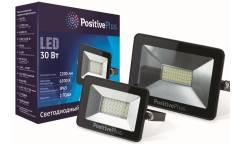 Светодиодный (LED) прожектор Экономка_POSITIVE PLUS _ SMD - 20W/6500K/IP65