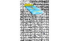 Гладильная доска «Stella-unior 1» ,фанера (1225х345мм) вес изделия-5,7кг
