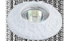 Светильник точечный_DE FRAN_ FT 1234 WH MR16  белый