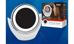 Светильник настольный зеркало Uniel LED TLD-592 White/LED/13Lm/6000K/3АА круг