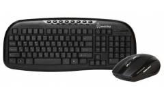 Комплект клавиатура+мышь Smartbuy Wireless 205507AG черный