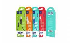 Кабель USB Hoco X24i Pisces Lightning (синий)