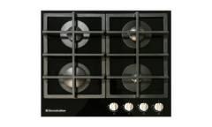 Варочная газовая поверхность Electronicsdeluxe GG4 750229F -012 стекло черное 4конф чр газ-контроль автоподжиг