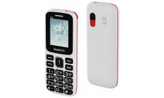 Мобильный телефон Maxvi C26 white-red