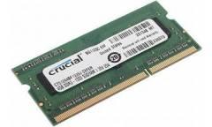 Модуль памяти Crucial DDR3 4Gb SODIMM (pc-12800) 1600MHz