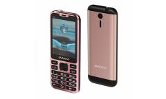 Мобильный телефон Maxvi X10 rose gold