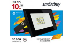 Светодиодный (LED) прожектор FL SMD LIGHT Smartbuy-10W/6500K/IP65