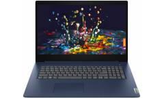 """Ноутбук 17.3"""" HD+ Lenovo IdeaPad 3 abyss blue AMD Ryzen 3 3250U/8Gb/256Gb SSD/noDVD/VGA int/DOS"""