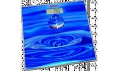 Весы напольные электронные Saturn ST-PS0246 стекло с рисунком 180кг