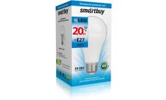 Светодиодная (LED) Лампа Smartbuy-A65-20W/6000/E27