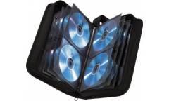 Портмоне Hama на 120CD/DVD H-33833 черный (упак.:1шт)