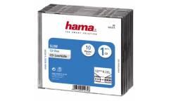Коробка Hama на 1CD/DVD H-51275 прозрачный (упак.:10шт)