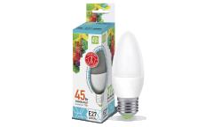 Лампа светодиодная ASD LED-СВЕЧА-standard 5Вт 160-260В Е27 4000К 450Лм