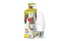 Лампа светодиодная ASD LED-СВЕЧА-standard 7.5Вт 160-260В Е27 3000К 675Лм