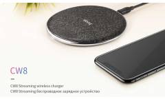 Беспроводное ЗУ Hoco CW8 Streaming Wreless Charger Black