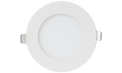 Панель светодиодная круглая RLP-0841 8Вт 160-260В 4000К 520Лм 120/105мм белая ASD