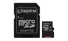 Карта памяти Transcend MicroSDXC 64GB Class 10+adapter