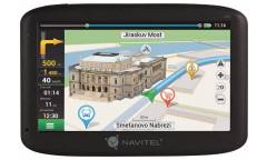 "Автомобильный навигатор GPS Navitel MS400 5"" 480x272 4Gb microSDHC черный Navitel"