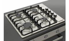 Встраиваемый комплект Darina 1Т1 BGM341 11 X + 1U5 BDE 111 705 X черный/нержавеющая сталь
