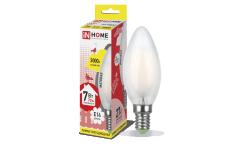 Лампа светодиодная ASD LED-СВЕЧА-deco 7Вт 230В Е14 3000К 630Лм матовая IN HOME
