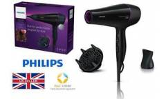 Фен Philips BHD176/00 2200Вт черный