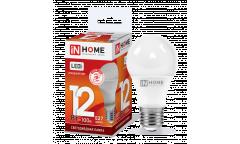 Лампа светодиодная IN HOME LED-A60-VC 12Вт 230В Е27 6500К 1080Лм