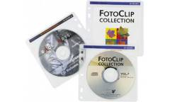 Конверт Hama на 2CD/DVD H-62611 белый (упак.:100шт)