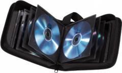 Портмоне Hama на 32CD/DVD H-11615 черный (упак.:1шт)