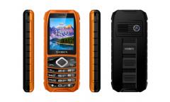 Мобильный телефон teXet TM-508R черный-оранжевый
