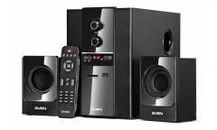 Компьютерная акустика Sven MS-1820  2.1, FM-тюнер, USB/SD, дисплей, ПДУ, мощность 18 Вт
