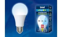 Лампа светодиодная Uniel LED-A60-10W/NW/E27/FR/MB три яркости
