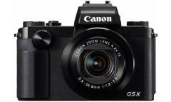 Цифровой фотоаппарат Canon PowerShot G5 X черный