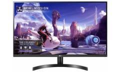 """Монитор LG 31.5"""" 32QN600-B-W черный IPS LED 16:9 HDMI матовая 350cd 178гр/178гр 2560x1440 DisplayPort Ultra HD 2K (1440p) 7.2кг"""