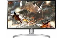 "Монитор LG 27"" UltraFine 27UL650-W черный IPS LED 16:9 HDMI матовая HAS 1000:1 350cd 178гр/178гр 3840x2160 DisplayPort Ultra HD 6.1кг"
