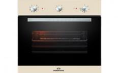 Духовой шкаф электрический RODMANS BOE 6601 BG бежевый 64л гриль конвекция 6режимов