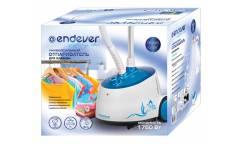 Отпариватель напольный Endever Odyssey Q-306 1750Вт синий/белый