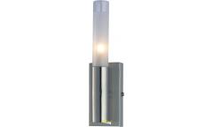 Бра_светильник галоген_DE FRAN_ WLK-022-1-SN_G9 _1*40Вт _матовое стекло, сатин-никель