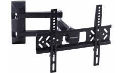 """Кронштейн для телевизора Kromax PIXIS-XS черный 22""""-55"""" макс.30кг настенный поворотно-выдвижной и наклонный"""