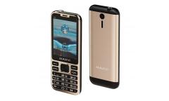 Мобильный телефон Maxvi X10 metallic gold