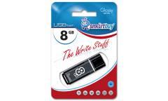 USB флэш-накопитель 64GB SmartBuy Glossy series черный USB2.0