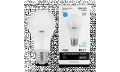 Лампа светодиодная GAUSS _A60_20W/4100K_E27 _Стандарт